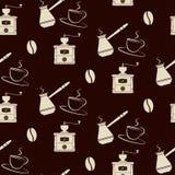 Kaw narzędzi wzór Obraz Royalty Free