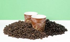 Kaw próbki Obrazy Stock
