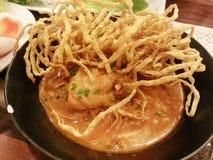 kaw soi, thailändisches Lebensmittel Lizenzfreie Stockfotografie