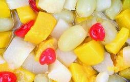 kawałów zakończenia owoc Zdjęcie Stock