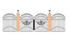 kawał żelaza eleganckich bramy marzenie Zdjęcie Royalty Free