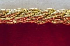 Kawałek błyskotliwy płótno Fotografia Royalty Free