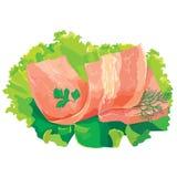 kawałek mięsna sałatka Zdjęcie Stock