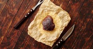 Kawałek mięso na pielusze zbiory