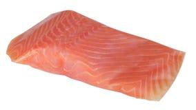 Kawałek odizolowywający czerwony rybi fillet Zdjęcie Royalty Free