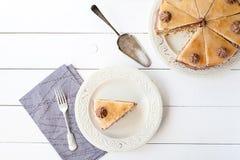Kawałek płatowaty tort (Dobosh węgra tort) Obrazy Royalty Free