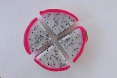 Kawałek smok owoc Obrazy Royalty Free