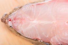 Kawałek tilapia rybi mięso zdjęcie royalty free