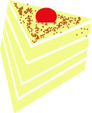 Kawałek tort zdjęcia stock