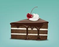 Kawałek tort ilustracji