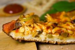 Kawałek Włoska pizza Zdjęcie Stock