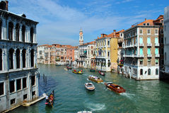 kawałków kanałowy Wenecji Zdjęcie Stock