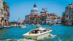 kawałków kanałowy Wenecji Fotografia Royalty Free