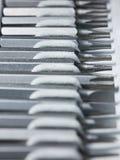 kawałków zastępowalny śrubokrętu toolkit Obraz Stock