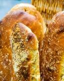 Kawałki chleb Fotografia Royalty Free