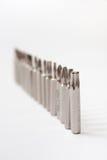 Kawałki dla śrubokrętu Obraz Stock