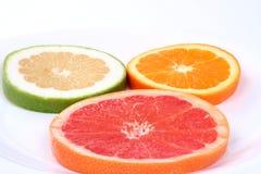 kawałki grejpfruta pomarańczowy sweety Obraz Stock