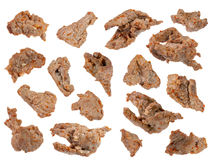 Kawałki smażący baranek z korzennym kumberlandem Zdjęcie Stock
