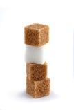 kawałki sugar różnorodnego Zdjęcia Royalty Free