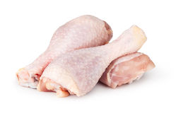 Kawałki surowy kurczaka mięso Zdjęcia Stock