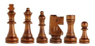 kawałki szachowi obrazy stock