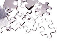 kawałki układanki jigsaw Zdjęcie Stock