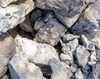 Kawałki zdecydowany beton zdjęcie stock