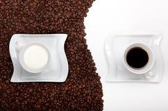 kawa łagodna fotografia stock