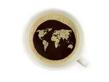 Kawa świat zdjęcia stock