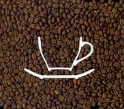 Kawa. Obraz Stock