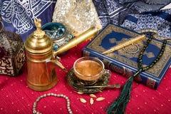 kawa arabska Zdjęcia Stock