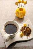 kawa biel odosobniony ustalony Zdjęcie Royalty Free