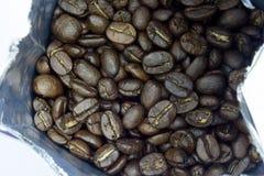 kawa, blisko fasoli Obrazy Stock