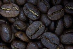 kawa, blisko fasoli Obraz Royalty Free
