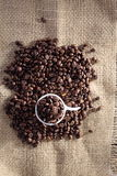 kawa bobowa upiec Obraz Stock