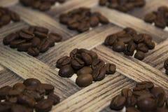 Kawa brogujący kwadrat Fotografia Royalty Free