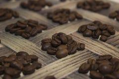 Kawa brogujący kwadrat Obrazy Stock