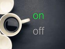 Kawa dalej zdjęcia royalty free