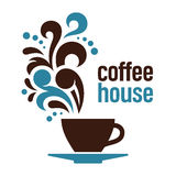 Kawa dom ilustracji