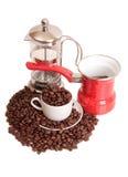 Kawa dziesięć i filiżanka obraz stock