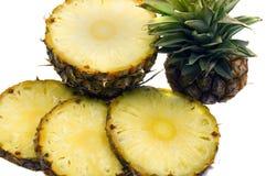 kawałek ananasowy Zdjęcie Stock