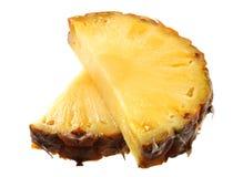 kawałek ananasowy Obrazy Stock