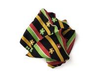 Kawałek barwiona tkanina Obrazy Royalty Free