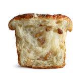 Kawałek chleb z rodzynkami Fotografia Royalty Free