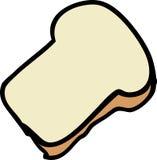kawałek chleba Fotografia Royalty Free