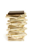 kawałek czekoladowa sterta Zdjęcie Royalty Free