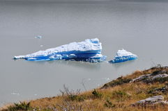 Kawałek lód obrazy royalty free