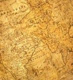 kawałek mapy pradawnych Obraz Royalty Free