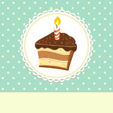 Kawałek tort Ilustracja Wektor