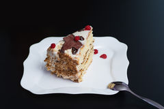 Kawałek tort Obrazy Stock